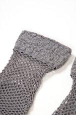 画像10: ショートストッキング(アニマル柄・網・グレー×シルバー)[AYA RETE Socks grey]※2足までメール便対象【送料無料・即日発送】 (10)
