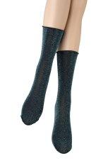画像4: ショートストッキング(ラメ・ブルー)[FLAVIA Socks ottanlo]※2足までメール便対象【送料無料・即日発送】 (4)