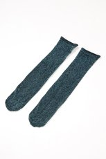 画像6: ショートストッキング(ラメ・ブルー)[FLAVIA Socks ottanlo]※2足までメール便対象【送料無料・即日発送】 (6)