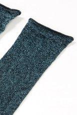 画像7: ショートストッキング(ラメ・ブルー)[FLAVIA Socks ottanlo]※2足までメール便対象【送料無料・即日発送】 (7)