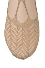 画像3: フットカバー(網・ベージュ)[BERESCA Foot naturale]※2足までメール便対象【送料無料・即日発送】 (3)