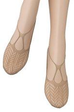 画像4: フットカバー(網・ベージュ)[BERESCA Foot naturale]※2足までメール便対象【送料無料・即日発送】 (4)