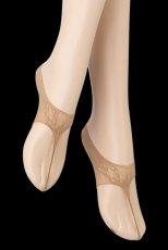 画像5: フットカバー(レース柄・足袋風・ベージュ)[JAPANESSE Foot beige]※2足までメール便対象【送料無料・即日発送】 (5)