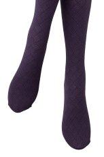 画像4: ハイソックス(ダイヤ柄・バスケットチェック・パープル)[MOSAICO High-Socks violet]※2足までメール便対象【送料無料・即日発送】 (4)