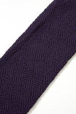 画像8: ハイソックス(ダイヤ柄・バスケットチェック・パープル)[MOSAICO High-Socks violet]※2足までメール便対象【送料無料・即日発送】 (8)