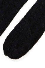画像9: ハイソックス(ストライプ・メッシュ・ブラック)[PETRA High-Socks nero]※2足までメール便対象【送料無料・即日発送】 (9)
