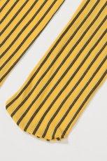 画像9: ハイソックス(花柄・ストライプ・イエロー×ブラック)[YVONNE High-Socks limone-nero]※2足までメール便対象【送料無料・即日発送】 (9)