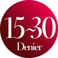 15〜30 | デニール