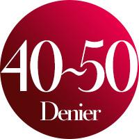 40〜50 | デニール